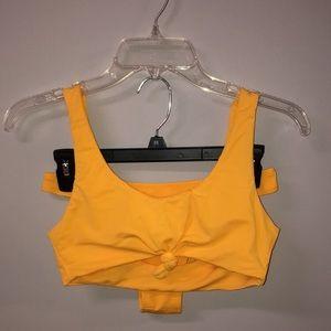 Other - Yellow cheeky bikini